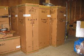 Replacement Furnaces and Air Handlers in Stock AT ALL TIMES